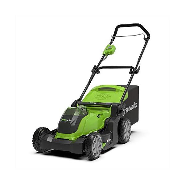 Greenworks G40LM41 Li-Ion 40V Battery Lawnmower