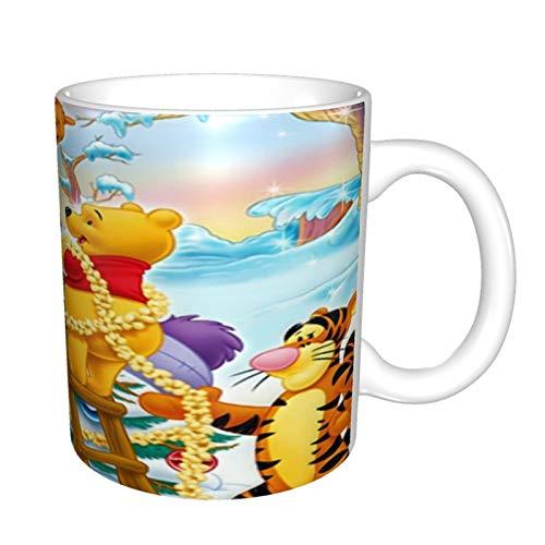 Winnie The Pooh - Taza de café divertida, regalo para compañeros de trabajo, amigos, jefe, Navidad, Acción de Gracias, para hombres y mujeres, 11 oz