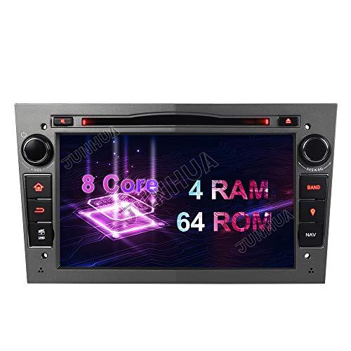 "Grau Android 10 Eingebautes CARPLAY+Android Auto DSP Octa Core 4GB RAM+64GB ROM Autoradio DVD GPS Navigation 7\"" Radio DAB+ Mirrorlink OBD2 für Opel Vauxhall Astra Antara Vectra Corsa Zafira"