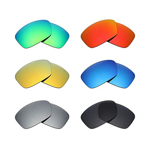 MRY 6pares polarizadas lentes de repuesto para Oakley Hijinx–Gafas de sol