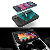 CarQiWireless Wireless Charger for Honda CRV 2019 2018 2017 Car Fast Charging Charger, Center Console Holder Storage Box with QI Enable Cell Phone Wireless Charging Pad Mat for CR-V Interior Accessory