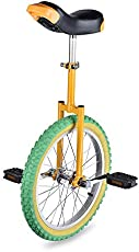 """AW Yellow Green 18"""" Inch Wheel Unicycle Leakproof Butyl Tire Wheel Cycling Outdoor Sports Fitness Exercise"""