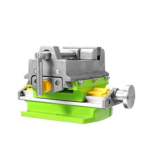 Frezen van metalen, Cross Slide Drill Press Vise, maakt het werkstuk snel te poneren, eenvoudig en nauwkeurig, worden gebruikt als freesmachine, slijpen machine accessoires of als instrument alleen