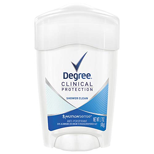 Degree Clinical Protection Anti-Perspirant & Deodorant, Shower Clean 1.7 oz by Degree
