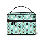 French Bulldog Multifunctional Travel Cosmetic Bag Cosmetic Case Storage Box (For Men And Women)