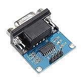 Módulo electrónico RS232 a TTL serie convertidor de puerto del módulo conector DB9 MAX3232 30pcs módulo serial Equipo electrónico de alta precisión
