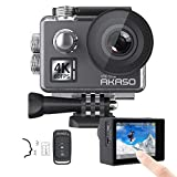 AKASO V50 Ultra 4K/30fps 20MP Action Cam WiFi Action Kamera mit Bildstabilisierung, 30M...