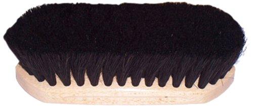 Intrepid International Tailwrap Wood Block Horse Hair Brush, 6 1/4