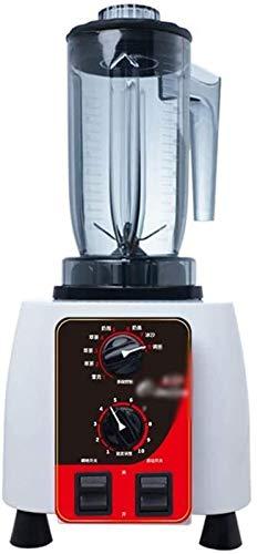 Blender Smoothie Blender 1100W Countertop, Blender Smoothie Maker Professional Countertop haute vitesse puissance Blender minuterie intégrée for Crusing Ice, Frozen Desser