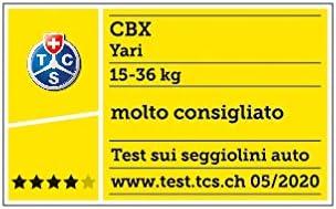 Crunchy Red Gruppo 2//3 Con Sistema Latch Connect cbx Seggiolino auto per bambini Yari 15-36 kg Da 3 fino a 12 anni ca.
