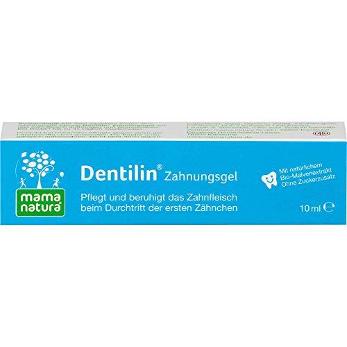 mama natura Dentilin Zahnungsgel pflegt und beruhigt das Zahnfleisch, 10 ml Gel