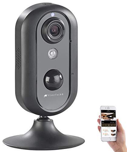 VisorTech LTE Kamera: IP-HD-Überwachungskamera mit LTE 4G, GSM, 3G & WLAN, Nachtsicht, PIR (Kamera SIM Karte)