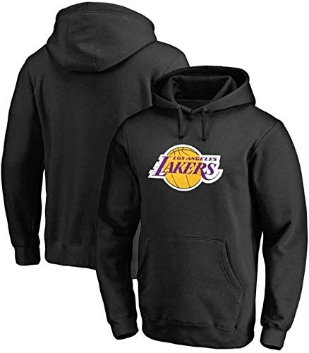 NBA Sudadera con capucha para hombre, de los Lakers de Los Ángeles, de manga larga, sudadera deportiva para jóvenes, informal, sudadera con capucha (talla XL: XL) – Unisex (talla: XL)