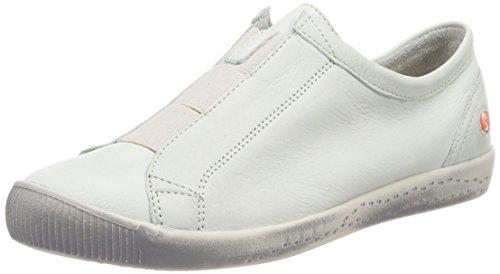 Softinos Damen INI453SOF Smooth Slipper, Weiß (White), 42 EU