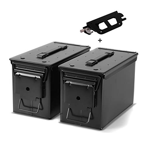 Satteltasche M2A1 + Halter abnehmbar für Harley Softail Standard 2020 Paar