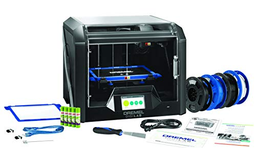 Dremel DigiLab 3D45 Industrial 3D Printer With Extra supplies, 30 Lesson plans, Professional Development course, PC & MAC OS, Chromebook, iPad Compatible, Built-in HD Camera, Heated Build Plate
