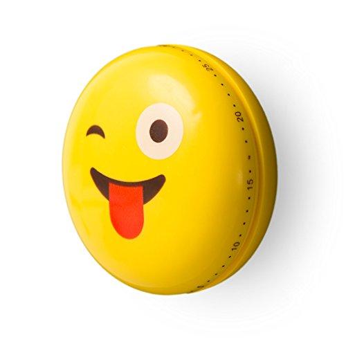 Balvi-EmojiminuterodeCocinamecánico.condiseñoMuyDecorativo,estáFabricadoenplástico.NoUtilizaPilas.