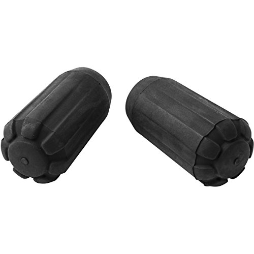 Black Diamond Trekking Pole Tip Protectors Bastones Accesorios, Unisex-Adult, Negro, Pair