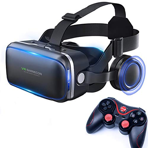Read About XGVRYG Virtual Reality Headset, 3D VR Scope The Lightest for 3D Movies and Games Virtual ...