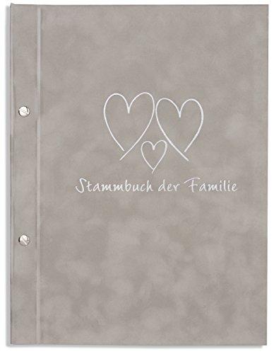 A4 Stammbuch der Familie grau Resda Stammbuch Hochzeit incl. 11 Stammbuchhüllen