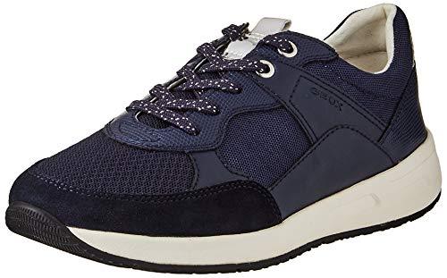 Geox D BULMYA B, Zapatillas Mujer, Azul Marino, 39 EU