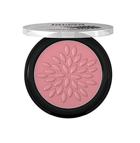 lavera So Fresh Mineral Rouge Powder Puder ∙ Farbe Plum Blossom ∙ sanfter schimmer & seidig zart ∙ Natural & innovative Make up ✔ Bio Pflanzenwirkstoffe ✔ Naturkosmetik ✔ Augen Kosmetik 1er Pack (1 x 5 g)