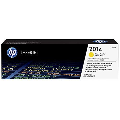 Toner Laserjet Color HP Suprimentos CF402AB HP 201A Amarelo M252DW / M277DW