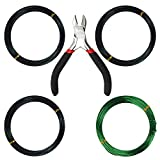 Kebinfen® Tree Training Wires for Bonsai Tree, with Cutting Pliers Size 1.0 mm/ 1.5 mm/ 2.0 mm (Each Size 32 ft/10 m), AntiCorrosion and Rust Resistant bonsai trees Nov, 2020