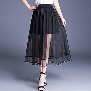 3936ca3c2bac55 Amazon.fr : jupe voile noir
