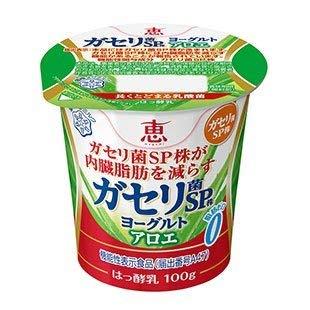 雪印 メグミルク 恵 ガセリ菌 SP株ヨーグルト アロエ 食べるタイプ100g×48コ 【クール便】