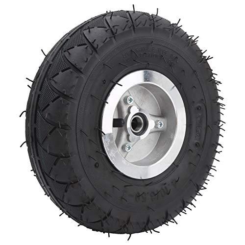 jadenzhou Neumático de inflado, Neumático de inflado con Cubo de Rueda Neumático de Scooter eléctrico 4.10‑3.50‑4 Neumático para cortacésped para carros para triciclos eléctricos