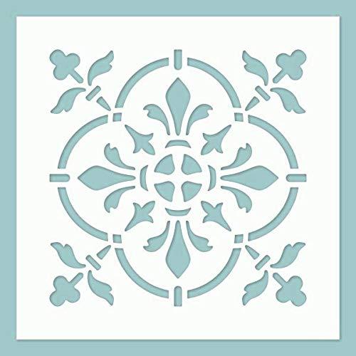 Zita's Creative Schablone - Tile 07. Schablone, Stencil