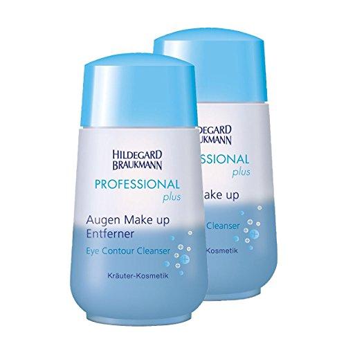 Hildegard Braukmann Professional Plus Augen Make-Up Entferner, 2er Pack (2 x 100 ml)