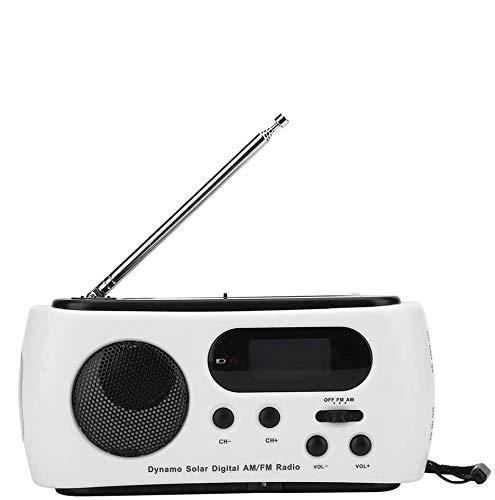 HLDUYIN Portable Radio Rechargeable Wind Up Radios...