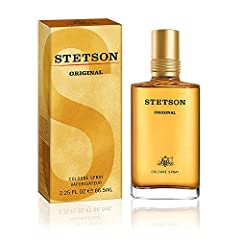 TIMELESS: Stetson Original Eau de Cologne Spray delivers a classic, masculine aroma BOLD: Refreshingly sharp citrus notes MEASURED: Softened by the soft touch of lavender MASCULINE INTEGRITY: Blended with rich, rugged woods and spices STEEPED IN HIST...