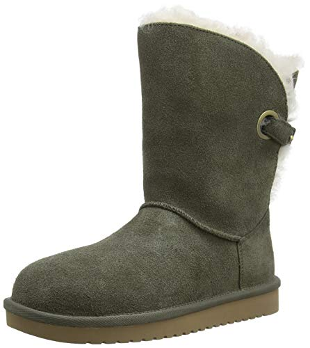 Koolaburra by Ugg W REMLEY Short, Botas Altas Mujer, Verde Dusty Olive Duol, 41