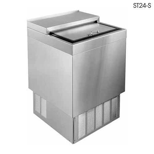 Glastender - ST24-S - 24 inches All Stainless Bottle Cooler