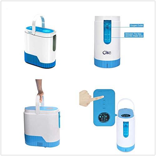 Caredaily Portable O-xygen Concentrator Generator,O2 Generator,Home O-xygen Concentrator Generator, O-xygen Concentrator for Home Travel