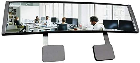 New! High Definition Wide Angle Rear View Mirror for PC Monitors or Anywhere: EX Large by ModTek (1 Pack)
