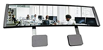 New! High Definition Wide Angle Rear View Mirror for PC Monitors or Anywhere  EX Large by ModTek  1 Pack