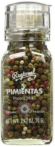 Regional Molinillo 5 Pimientas 70 g