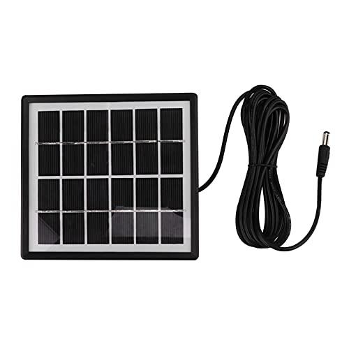Pompa di aria solare alimentata solare, 3.7V/3600mA/h di plastica fatta DC 5V/1A 0.5W