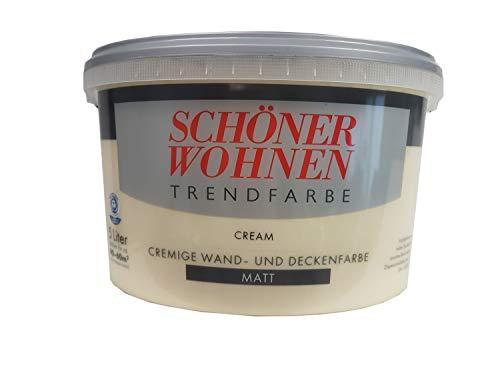 Schöner Wohnen Trendfarben-Cream-5 l matt