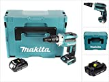 Makita dfs251y1j batería–Atornilladora eléctrica (18V/systemkit, 1batería en Makpac