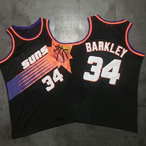 Aojing Charles Barkley # 34, Phoenix Suns, uniformen Swingman, Basketball Jersey, One Piece, The Round Mound von Zugtrafe, Philadelphia 76ers