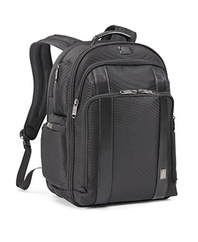 Travelpro Crew Executive Choice 2 Checkpoint Friendly Laptop Backpack, Black, 17-Inch