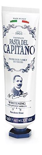 Pasta del Capitano 1905 Dentifricio Whitening, 75 ml - [confezione da 6]