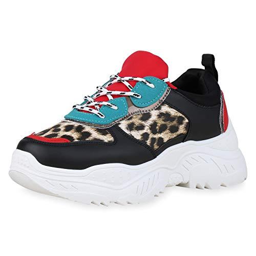 SCARPE VITA Dames Plateau Sneaker Lederlook Schoenen Veters Chunky Turnschoenen Metalen Vrijetijdsschoenen Zool