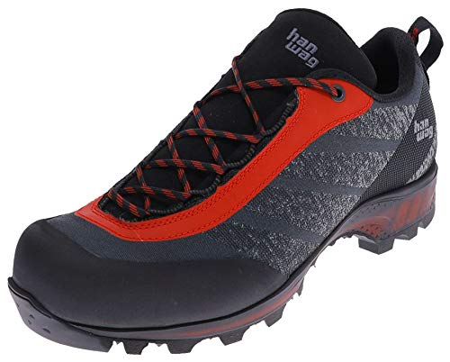 Hanwag Ferrata GTX Low-Cut Schuhe Herren Black/red Schuhgröße UK 9 | EU 43 2020