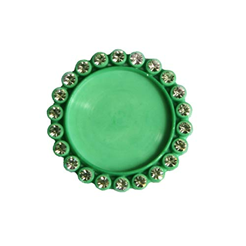 Rhinestone Button Resin Bottle Cap Tray Setting Key Cover lids for cabochons Cameo Inside Size 25mm 1 inch &20mm 10PCS - Inside Size 20mm - Inside Size 20mm